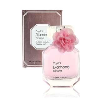 Parfum Wanita Crystal Diamond Perfume Women Miniso Import