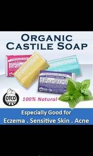 🚚 Dr Bronner Organic Castille Soap Bar