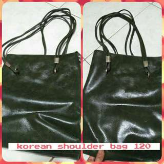Korean long shoulder bag