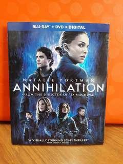 USA Blu Ray Slipcase - Annihilation