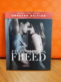 USA Blu Ray Slipcase - Fifty Shades Freed