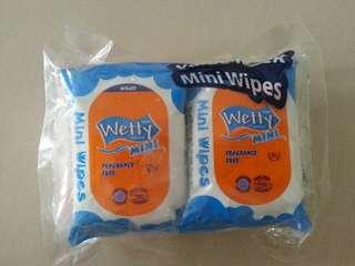Wet Wipes 8's x 6 Packs