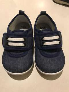 Soft Denim Shoes for Toddler Boy