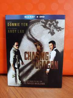 USA Blu Ray Slipcase - Chasing the Dragon