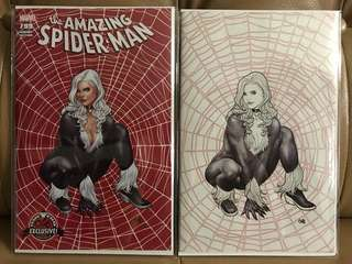 Amazing Spider-man #799 Frank Cho variant set