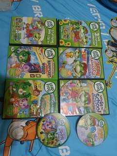 Leapfrog preloved DVDs