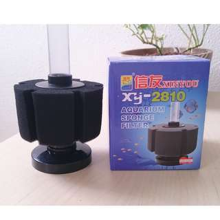 BNIB aquarium fish tank sponge filter - last 5 stock