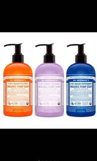 🚚 Dr Bronner Pump Soap
