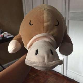 Mumuso Platypus plushie (large)