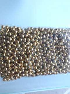 BN Gold-plated 3mm beads