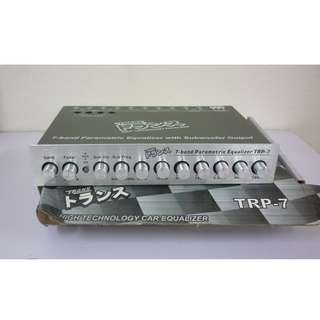 TRANS TRP-7 7BAND PREAMP