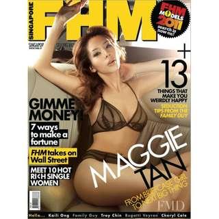 FHM Singapore - February 2011 - Maggie Tan