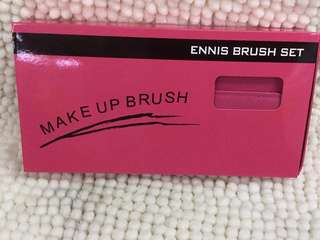 10pcs brush with pouch