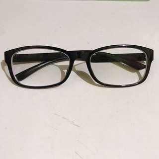 Frame Kacamata — black (minus)