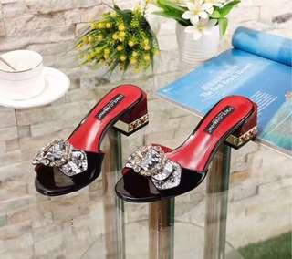 D&G Jewelled Block heels