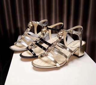 Chanel  Block Heels