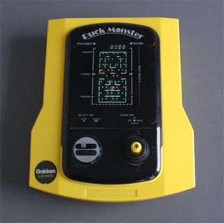 Gakken game puck monster vintage table game console *working condition*