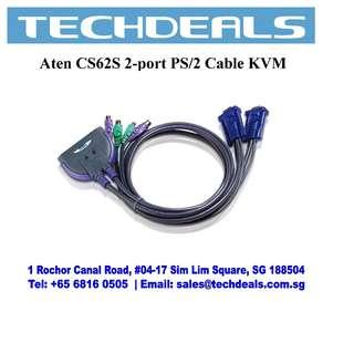 Aten CS62S 2-port PS/2 Cable KVM