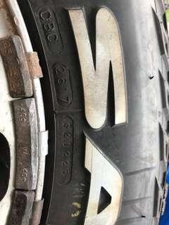 PRESA MT-PRO Tyre - Full Set