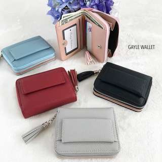Gayle Foldable Pastel Wallet