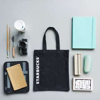 Starbucks 星巴克 季節 限定 牛仔布 隨行杯 托特包 手提包 購物袋 環保袋