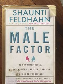 The Male Factor (Shaunti Feldhahn) Hardbound