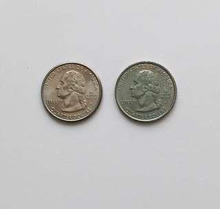 USA 1999 commemorative quarter dollar