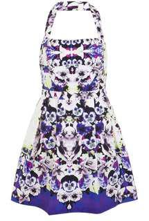 Miss Selfridge- Floral Halter Neck Dress
