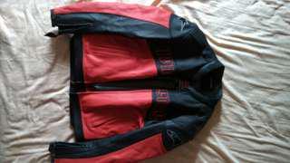 Alpinestars leather racing jacket