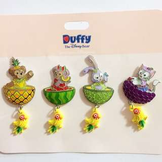 Disney Pin Duffy shelliemay stellalou gelatoni summer 水果