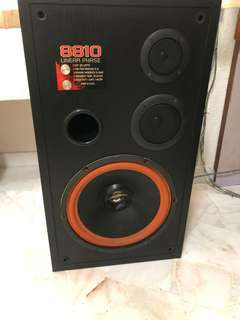 """Speakers with 12"""" woofer"""