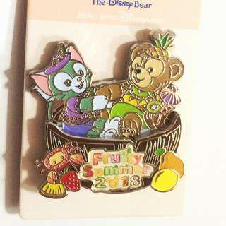 Disney Pin 襟章 Duffy gelatoni