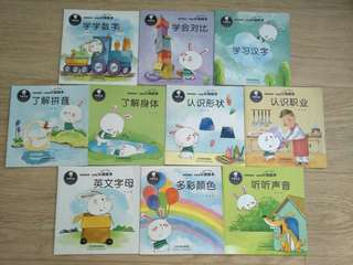 BN 10 Children introduction to learning books in chinese