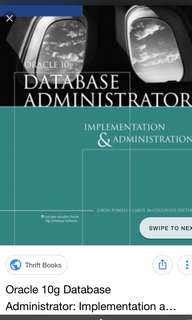 Oracle 10g Database Administrator : Implementation & Administration