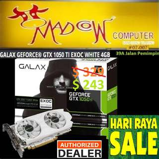 """GALAX GTX 1050 Ti EXOC GeForce.., """" Offer Sales.., Hurry Grab it by Tonite....while Stock Last..""""."""