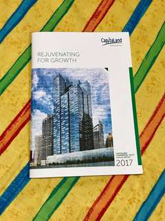 Capitaland Commercial Trust Annual Report 2017