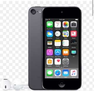 Ipod touch 6 (black) 32GB
