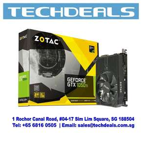 ZOTAC GeForce® GTX 1050 Ti Mini 4GB Graphic Card