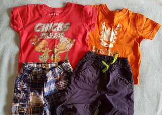 Assorted baby clothing