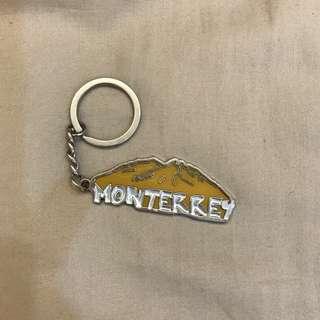 🚚 🔵墨西哥蒙特雷英文字母吊飾/鑰匙圈