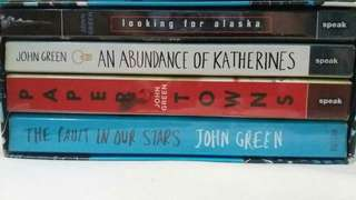 John Green books SALE!