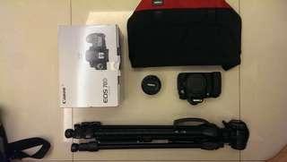 🚚 Canon 70D+50mm