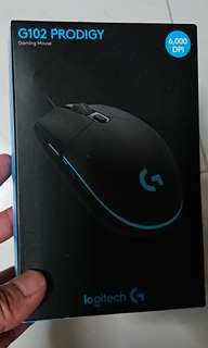 BNIB sealed Logitech G102 Prodigy mouse
