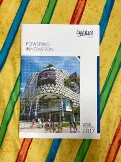 Capitaland Mall Trust Annual Report 2017