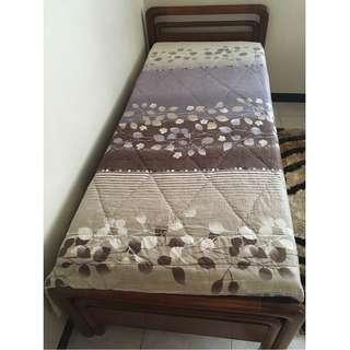 Bed Frame (made from Kayu Jati asli)