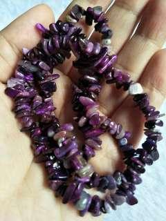 GSS(u.p$78)Sugilite Necklace or bracelet