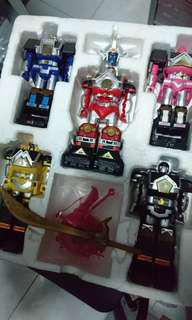 Power ranger shogun megazord sentai usa