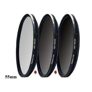 Variable ND filter 55mm (adjustable ND2 to ND400)