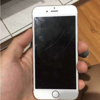 WTS Iphone 6s 64GB Rosegold fullset mulus