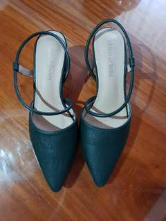 MARIO D' BORO Slingback mid-heels (Moss Green)